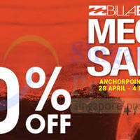 Read more about Billabong Up To 50% OFF Mega SALE @ Anchorpoint 28 Apr - 4 May 2014