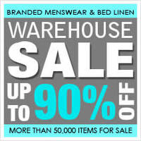 Read more about Biztex Up to 90% OFF Branded Menswear & Bedlinen Warehouse SALE 26 Apr - 4 May 2014