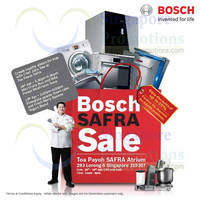 Read more about Bosch Up To 50% OFF Home Appliances SALE @ Safra Toa Payoh 18 - 19 Apr 2014
