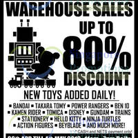 Read more about Sheng Tai Toys Warehouse SALE Up To 80% Off 30 Apr - 4 May 2014