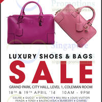 Read more about Brandsfever Handbags & Footwear Sale @ Grand Park City Hall 18 - 19 Apr 2014