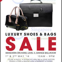 Read more about Brandsfever Handbags & Footwear Sale @ Mandarin Orchard 1 - 2 May 2014