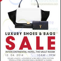 Read more about Brandsfever Handbags & Footwear Sale @ Intercontinental Hotel 12 Apr 2014