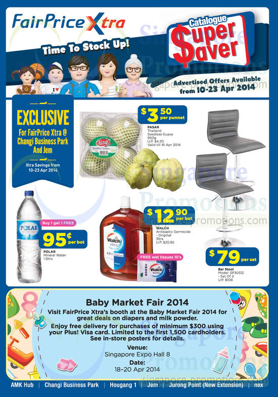 Catalogue Super Saver, Baby Market Fair