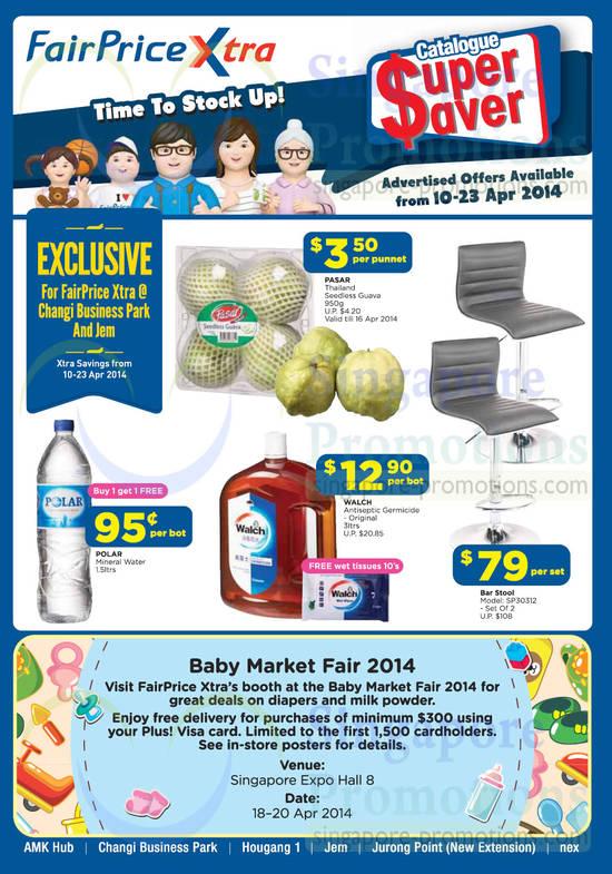 Catalogue Super Saver, Baby Market Fair