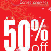 Read more about ChocoExpress Japanese Confectionery Fair @ All Outlets 1 - 20 Apr 2014