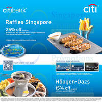 Read more about Haagen-Dazs & Raffles Singapore Up To 25% OFF For Citibank Cardmembers 20 Apr - 31 Dec 2014