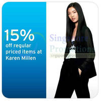 Read more about Karen Millen 15% OFF Storewide For Citibank Cardmembers 4 - 13 Apr 2014