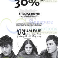 Read more about Coldwear 30% OFF Storewide 15th Anniversary Sale 1 - 11 May 2014