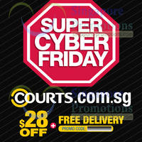 Read more about Courts $28 OFF Discount Coupon Promotion Code 25 - 27 Apr 2014