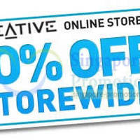 Creative Store 10% OFF Storewide (NO Min Spend) Coupon Code 23 - 30 Oct 2014