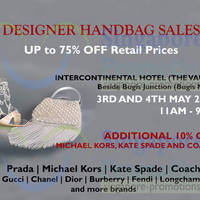 Read more about Reluzzo Up To 75% OFF Branded Handbags SALE @ Intercontinental Hotel 3 - 4 May 2014