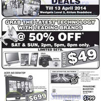Read more about Gain City 33rd Anniversary Promos, Westgate Roadshow & Other Offers 12 Apr 2014