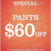 Read more about Dockers $60 Off Pants Weekday Lunchtime Promo 9 Apr 2014