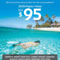 Read more about Expedia From $95 3D2N Flights + Hotel May Day Promo 22 - 30 Apr 2014
