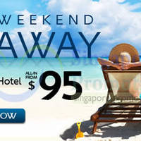 Read more about Expedia From $95 3D2N Flights + Hotels Long Weekend Getaway 3 - 30 Apr 2014