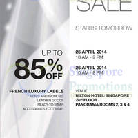 Read more about FJ Benjamin Up To 85% Off Luxury Sale @ Hilton Hotel 25 - 26 Apr 2014