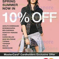 Read more about F3 Topshop, Topman, Topshop, Ben Sherman, Karen Millen & More 10% OFF Promo 4 - 13 Apr 2014