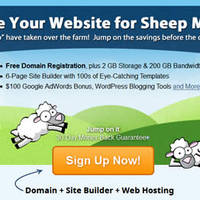 Read more about FatCow Web Hosting 75 Cents Per Month Cheep Sheep Promo 17 Apr 2014