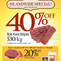 Read more about Fragrance Foodstuff Bakkwa & More Promo Offers 10 - 13 Apr 2014