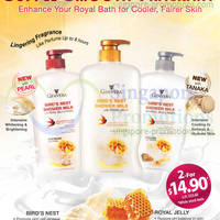 Read more about Ginvera Bird's Nest Shower Milk $14.90 For Two Promotion 24 Apr 2014