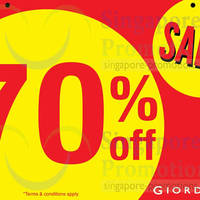Read more about Giordano Up To 70% OFF SALE @ Causeway Point 25 Apr - 4 May 2014