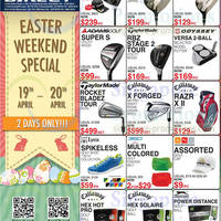 Read more about Golf Direct Easter Weekend Special Offers 19 - 20 Apr 2014