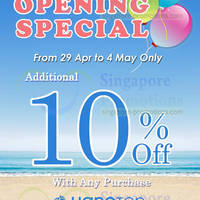 Read more about Hang Ten 10% OFF Storewide Promo @ Harbourfront Centre 29 Apr - 4 May 2014