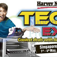 Read more about Harvey Norman Tech Expo @ Singapore Expo 1 - 4 May 2014