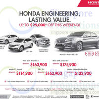 Read more about Honda Up To $29,000 Off Weekend Promo 26 Apr 2014