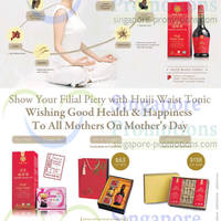 Read more about Huiji Mother's Day Waist Tonics & Gift Sets Offers 28 Apr 2014