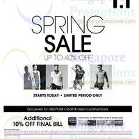 Read more about I.T Labels Up To 40% OFF Spring SALE 17 Apr 2014