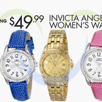Read more about Invicta Watches From $49.99 (90% OFF) 24Hr Promo 11 - 12 Apr 2014