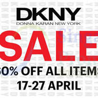 Read more about DKNY 60% OFF Storewide SALE @ Isetan Orchard 17 - 27 Apr 2014