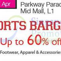 Read more about Isetan Sports Bargain Up To 60% OFF @ Parkway Parade 21 - 27 Apr 2014