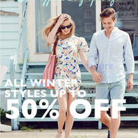 Read more about J Shoes 50% OFF Winter Styles Promo 30 Apr 2014