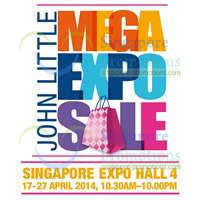 Read more about John Little Mega Expo Sale @ Singapore Expo 17 - 27 Apr 2014