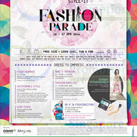 Read more about Junction 8 Fashion Parade Promotions & Events 18 - 27 Apr 2014