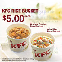 Read more about KFC Rice Bucket Now Available For Delivery 10 Apr 2014