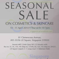 Read more about Kanebo Cosmetics & Skincare SALE @ UE Square 10 - 11 Apr 2014