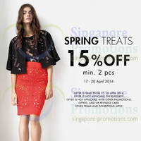 Read more about Karen Millen 15% Off Spring Treats 17 - 20 Apr 2014