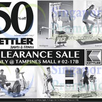 Read more about Kettler Up To 50% OFF Clearance Sale @ Tampines Mall 25 Apr 2014