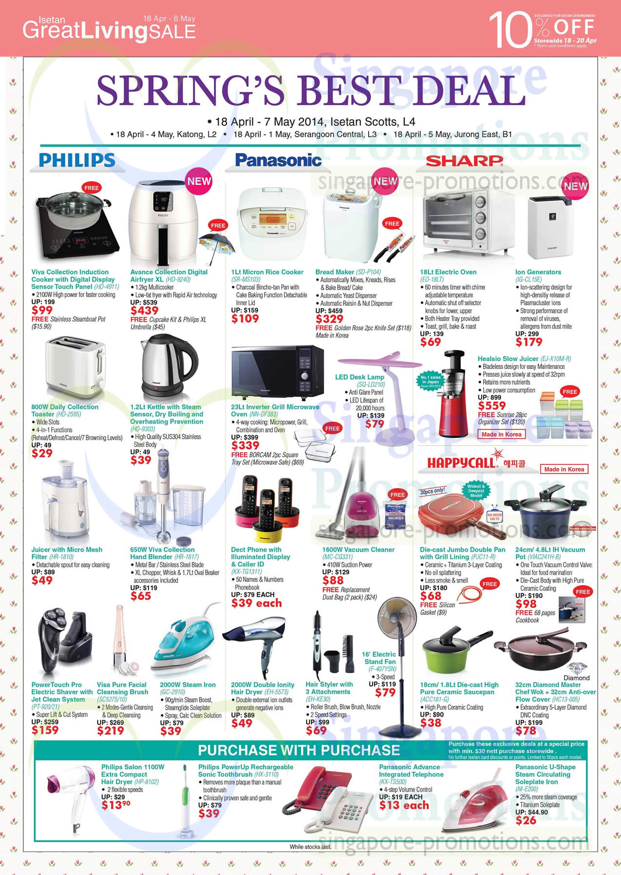 Uncategorized Sharp Kitchen Appliances kitchen appliances rice cooker blender microwave oven toaster phones philips panasonic sharp happycall