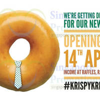 Read more about Krispy Kreme NEW Outlet Opening @ Raffles Place From 14 Apr 2014