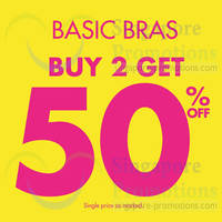 Read more about La Senza Buy 2 & Get 50% OFF Promo 26 - 27 Apr 2014