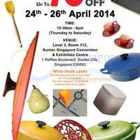 Read more about Le Creuset Family SALE @ Suntec Convention Centre 24 - 26 Apr 2014