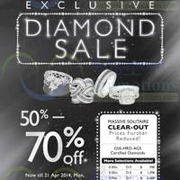 Read more about Lee Hwa Jewellery Diamond Sale @ Mandarin Orchard Hotel 18 - 21 Apr 2014