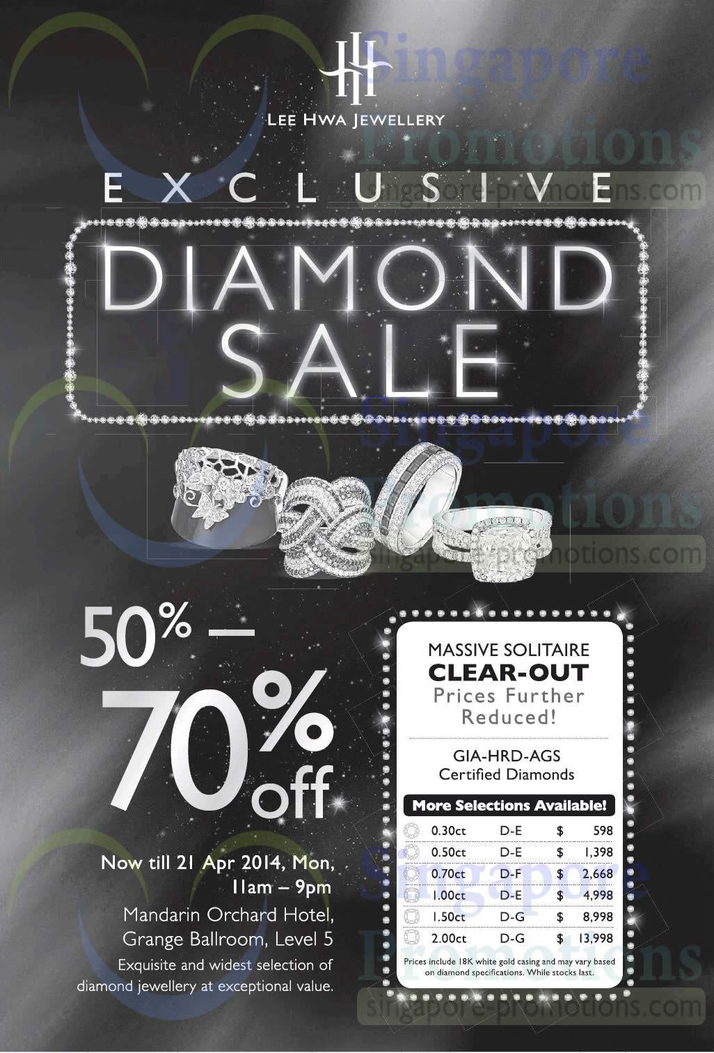 lee hwa jewellery diamond sale mandarin orchard hotel 18