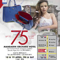 Read more about LovethatBag Branded Handbags Sale Up To 75% Off @ Mandarin Orchard 18 - 19 Apr 2014