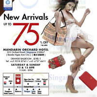 Read more about LovethatBag Branded Handbags Sale Up To 75% Off @ Mandarin Orchard 12 - 13 Apr 2014